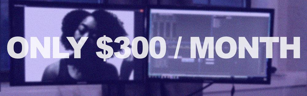 Memberships Starting at $300