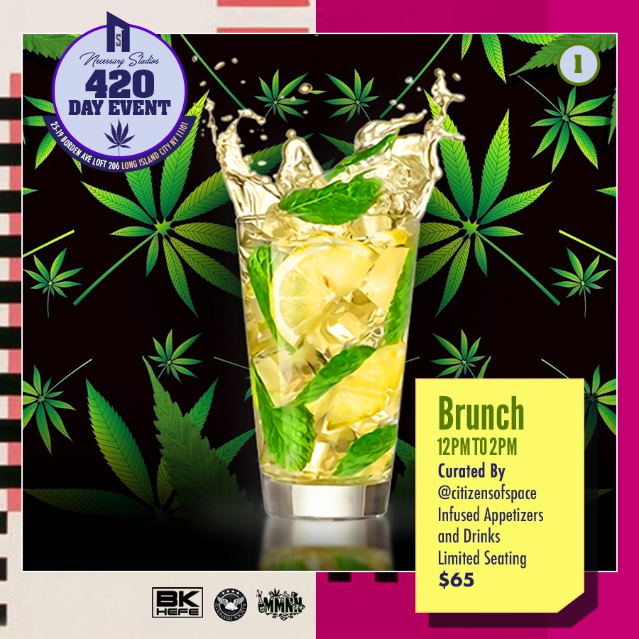 Brunch $65 - 1 Brunch Entry , 420 and Paint 420 Party Entry