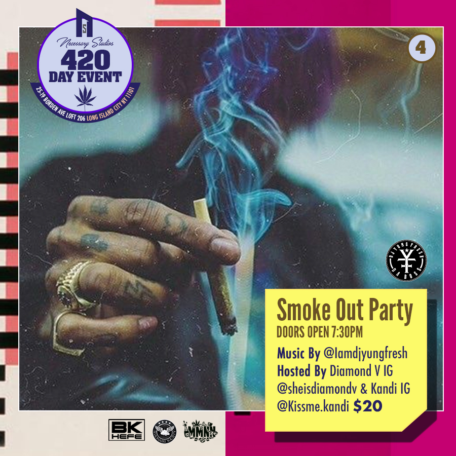 420 Party $20 - 1 Party Entry