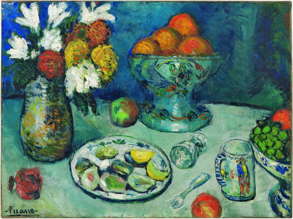 Nature morte (Le dessert), Pablo Picasso, 1901