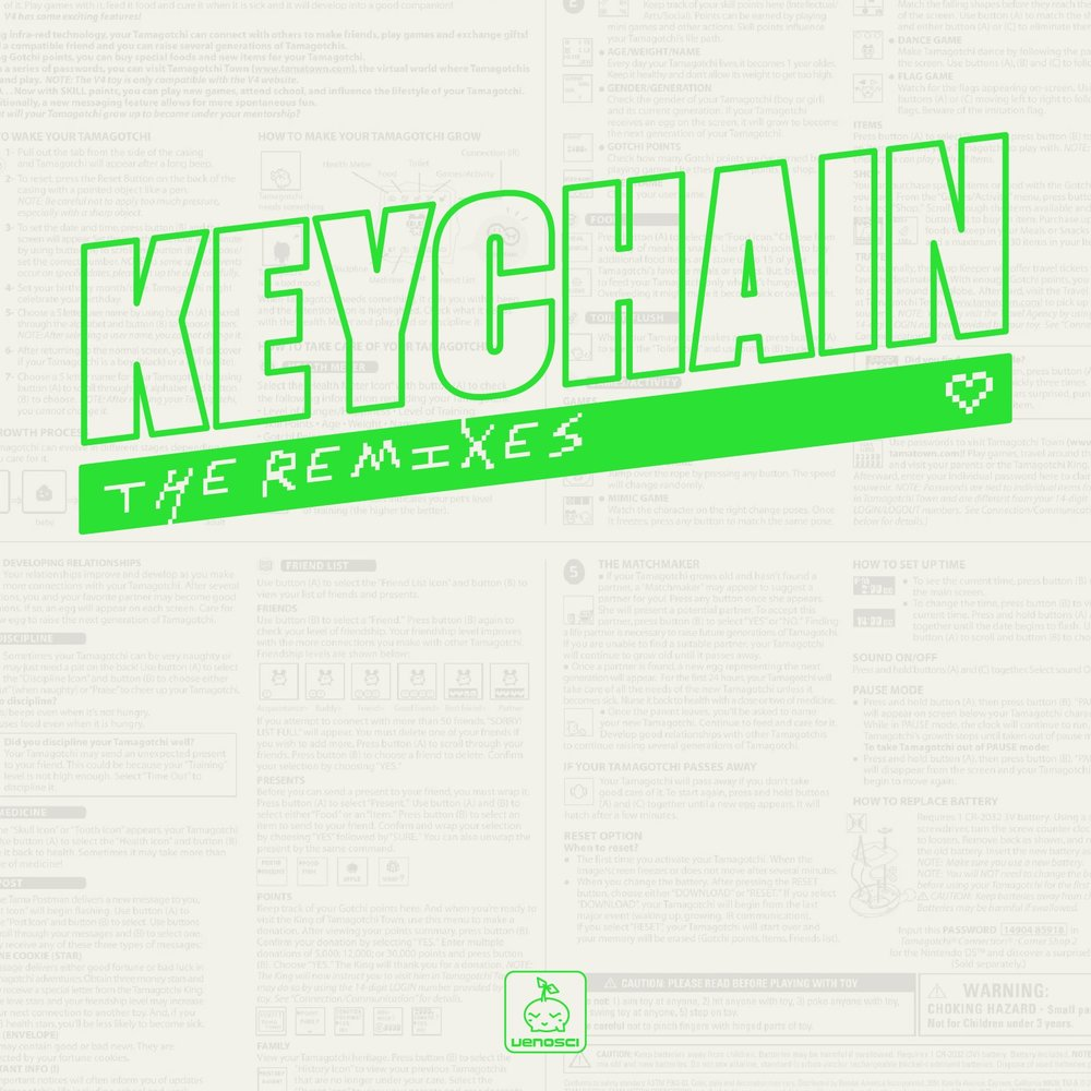 VenoSci  -  KEYCHAINS: The Remixes