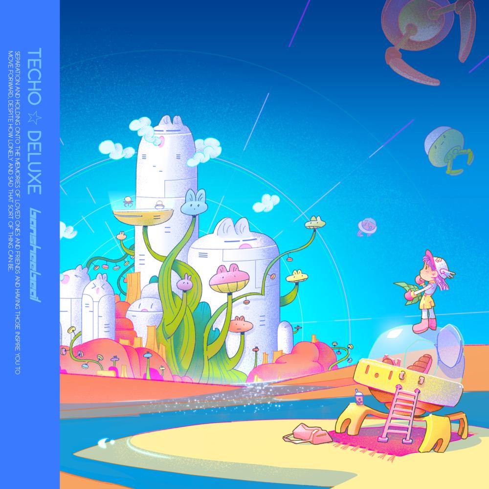 """""""Techo Deluxe"""" Album Cover"""