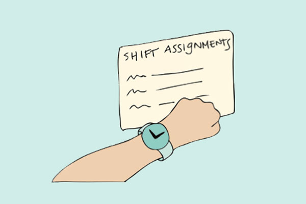 Proactive Preparation - The Last Hourly Round – Patient rounding that takes place to anticipate and take care of patient needs before a shift change.Pre-shift Assignments — Working to ensure 1:1 hand-offs between nurses by clearly assigning patients to oncoming nurses before a shift begins.