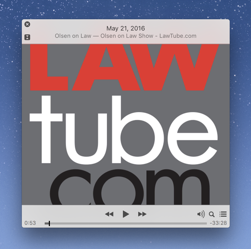 Lawtube Podcast