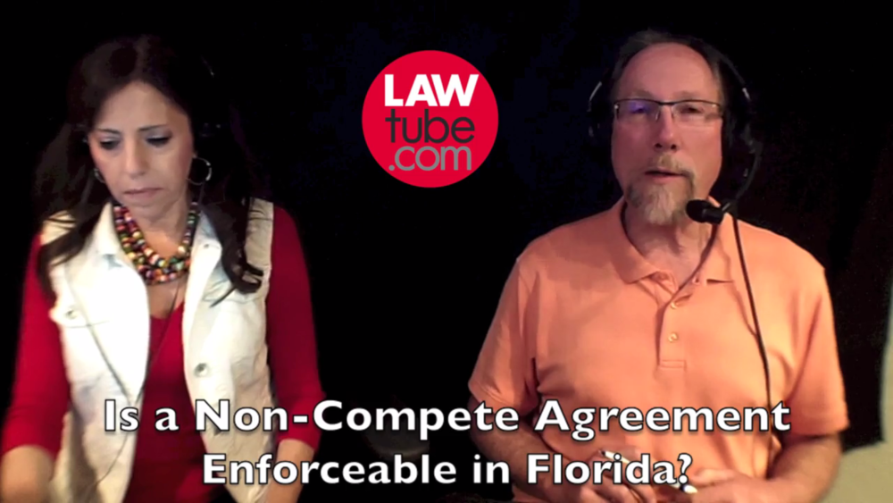 Is A Noncompete Agreement Enforceable In Florida Lawtube