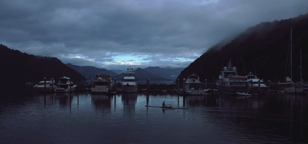 The Picton harbor.