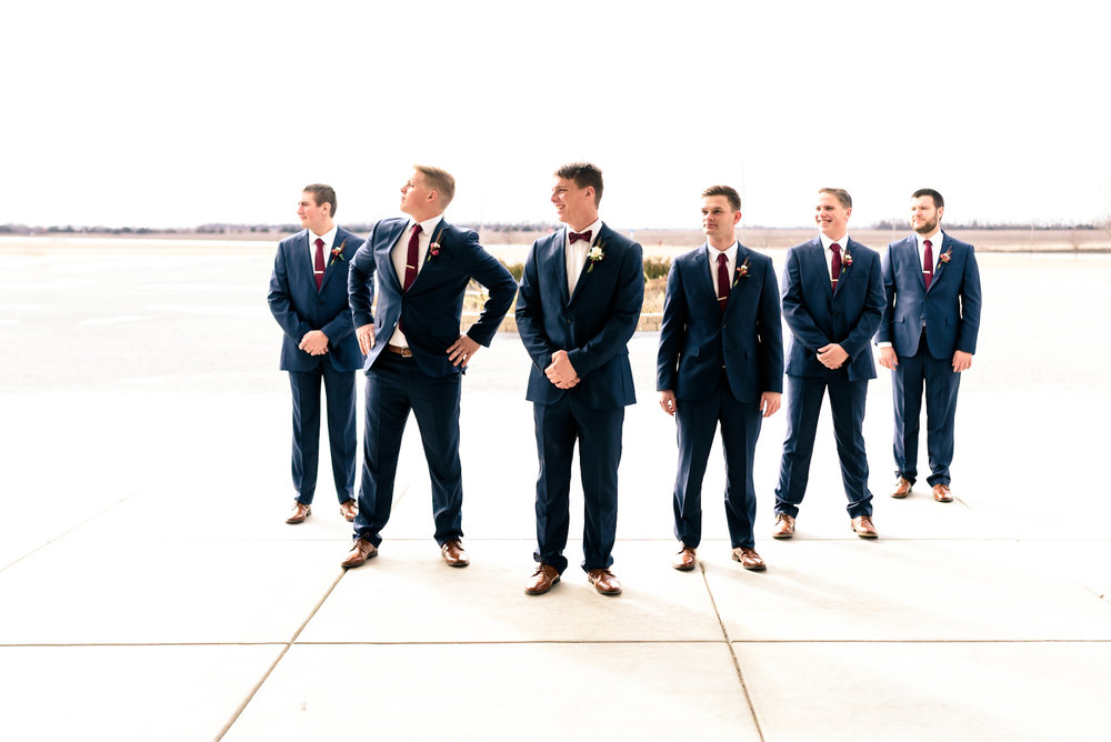 groomsmen, epic wedding party