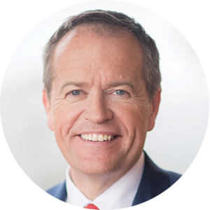 Bill Shorten  Leader of the Opposition