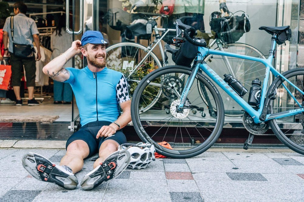 602km and 6,316m elevation from Tokyo to Osaka within 24 hours.  I've never felt so comfortable on the bike after such a long stint.