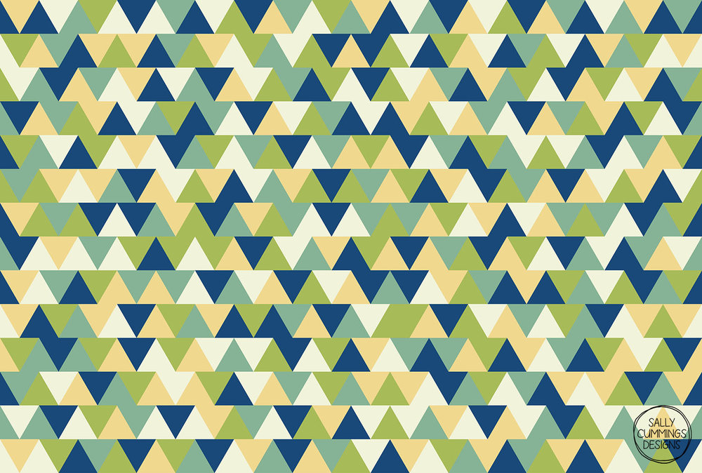 Rockpool triangles pattern