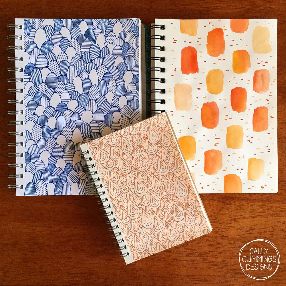 Sally Cummings Designs - Sketchbooks