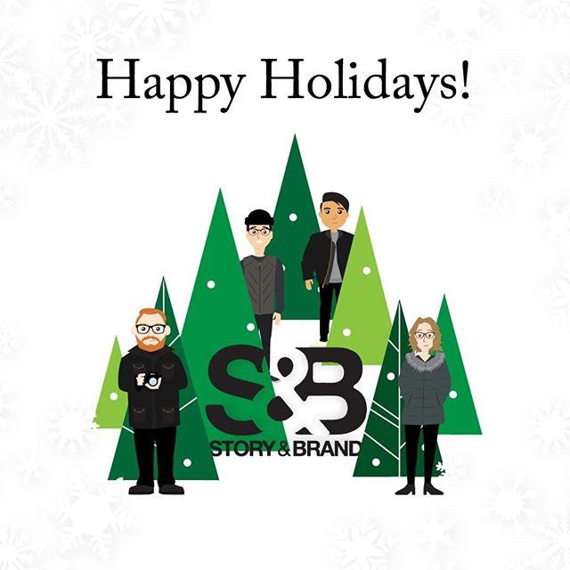 From all of us here at Story & Brand, we wish you a happy holiday season and a great 2019! And to our clients - thank you for making 2018 such an amazing year.  We've enjoyed all the videos, designs, websites, social sessions and more that we have been part of!  ______________________________________________ #storyandbrand #happyholidays #merrychristmas #merryandbright #yqrmarketing #yqrdigitalmarketing #brand #brandidentity #contentcreation #socialmediamarketing #socialmediamanagement #photography #videography #webdesign #graphicdesign #business #shoplocal #posts #photooftheday #picoftheday #instadaily #tellyourstory #buildyourbrand