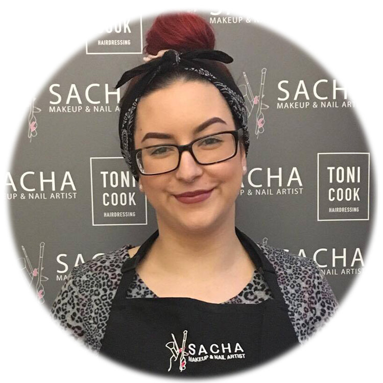 Sacha Glasgow Makeup Nails