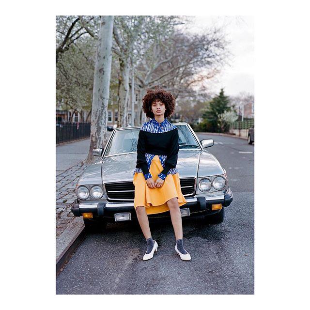 Windsor Terrace 2018 with Hannah @mussette 📸 @chrisbernabeo HMU @anchoponcho styles by @j.m.barrett 😘