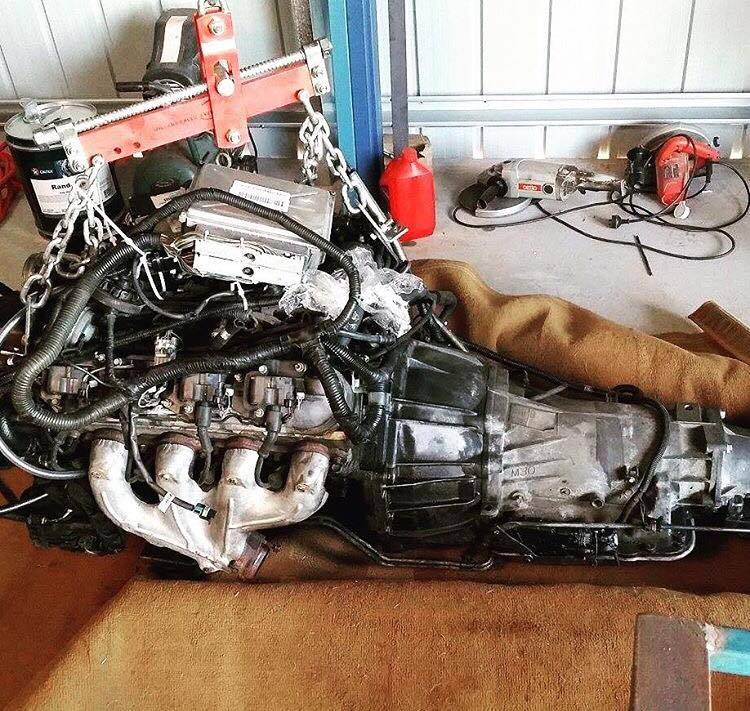 5.7L LS1 V8 being used