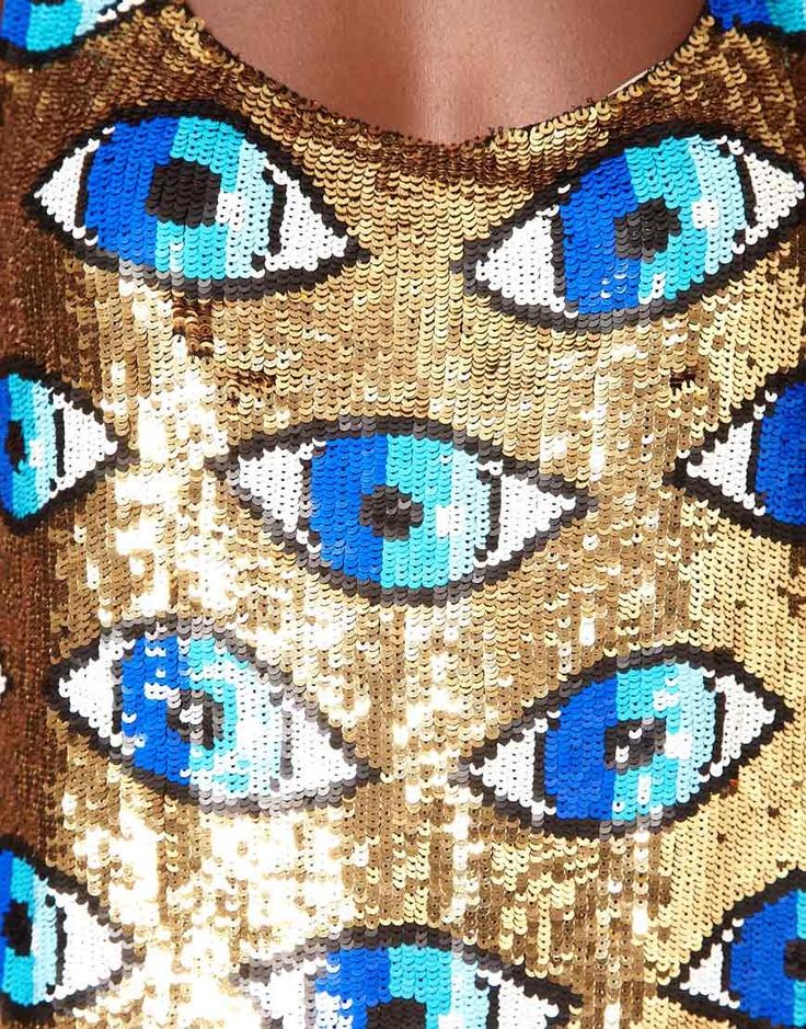 Evil Eye Dress