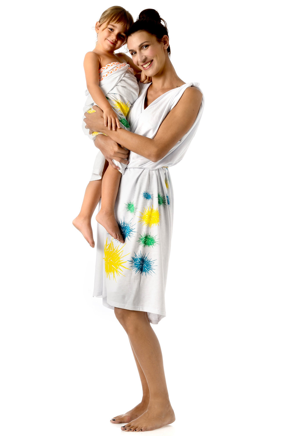 urchins-multi-color-design-on-white-cotton-kids-pareo-strapless-wraped-dress-matching-mother-daughetr-style.jpg