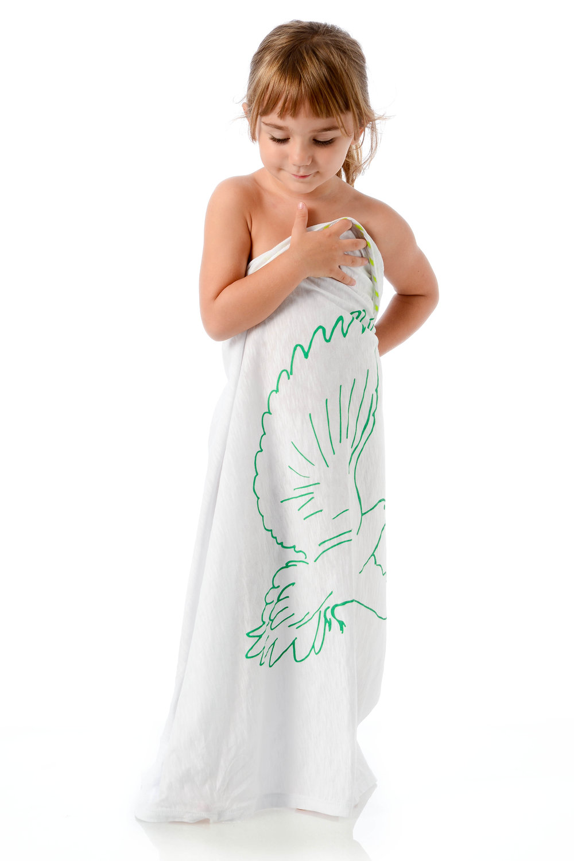 doves-kids-green-on-white-cotton-wrap-on-one-shoulder-strapless.jpg
