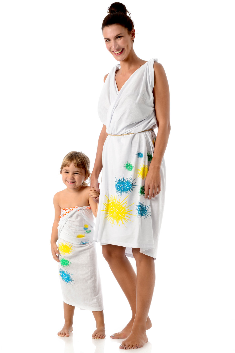 urchins-multi-color-design-on-white-cotton-kids-pareo-strapless-wraped-dress-matching-mother-daughter-style.jpg