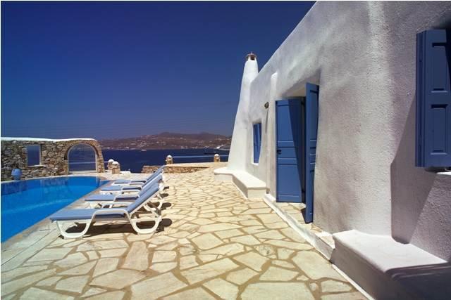 Mykonos Hotel View