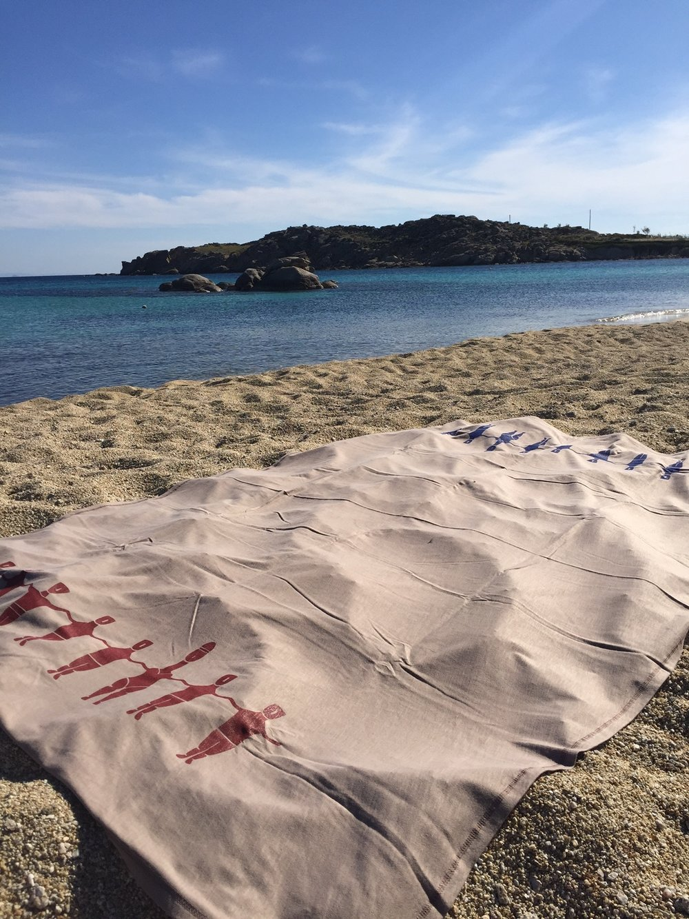 Pareaki at Psarou Beach, Mykonos