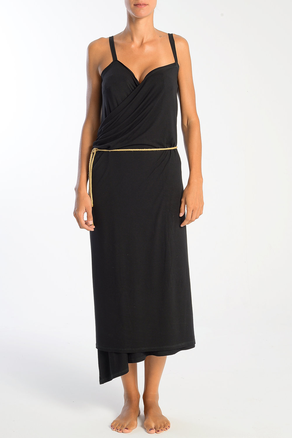 Meander Wrap Dress