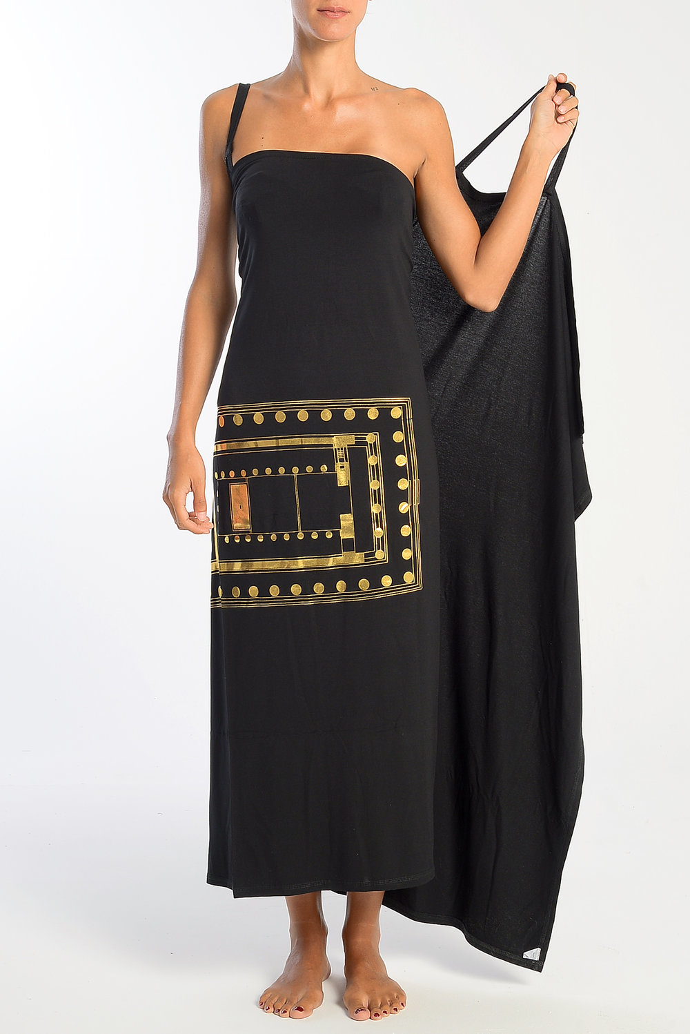 Parthenon Wrap Dress