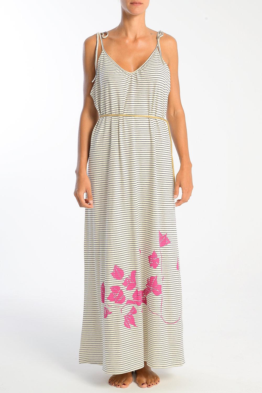 Boukamvillea-fuchia-on-straped-long-dress-with-belt.jpg
