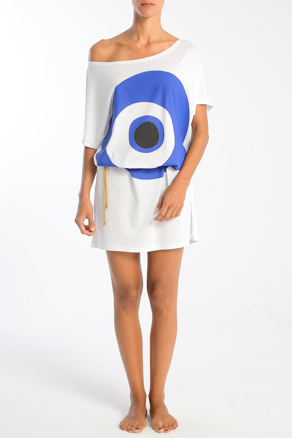 evil-eye-blue-black-on-white-tshirt-dress-white-cotton-with-belt.jpg