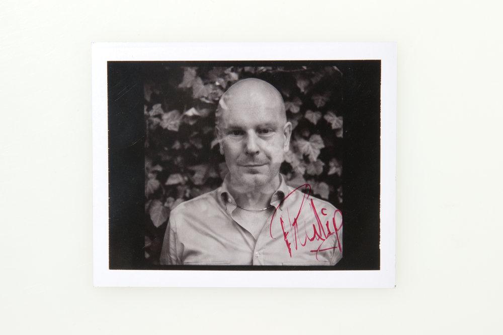 Phil Selway - Radiohead <br>Polaroid Type 664