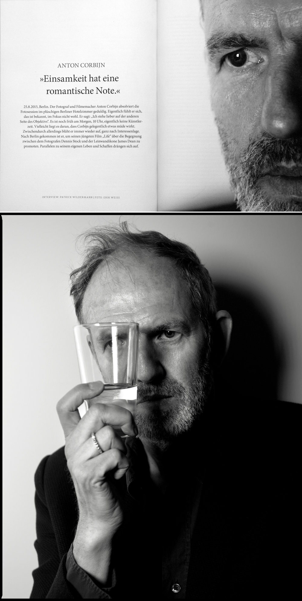 Anton Corbijn, for GALORE / Art Direction: Thomas Stumpe