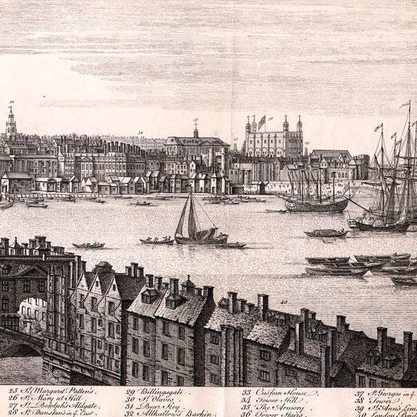 Antique Prints of London