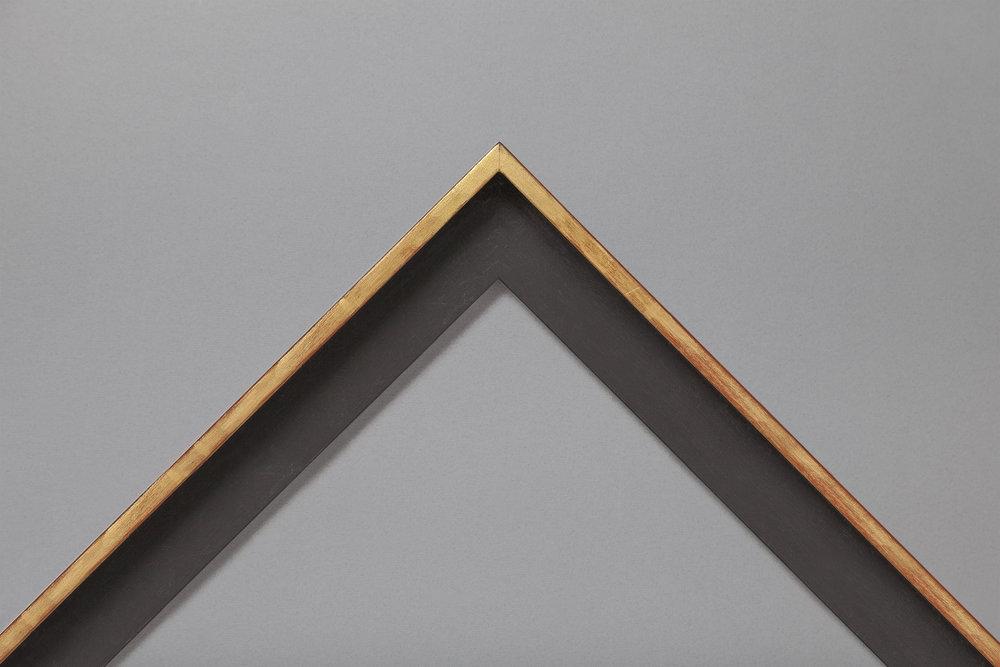 Gold top edge tray
