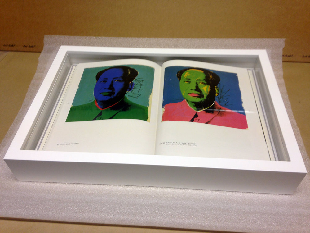 Andy Warhol Limited Edition book.