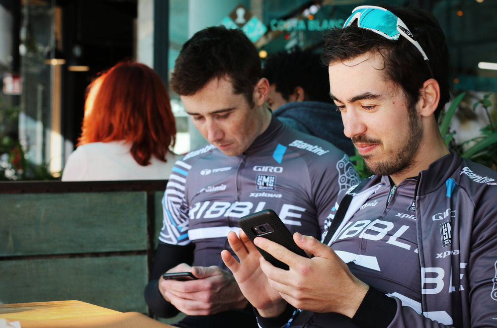 Riders can quickly and easily check test results online.