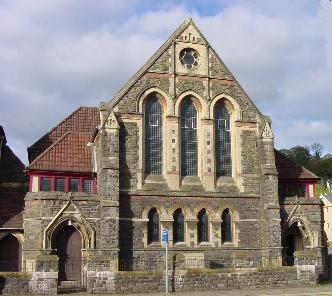 Temple Baptist, Gelliwastad Road - formally St Davids Presbyterian Church