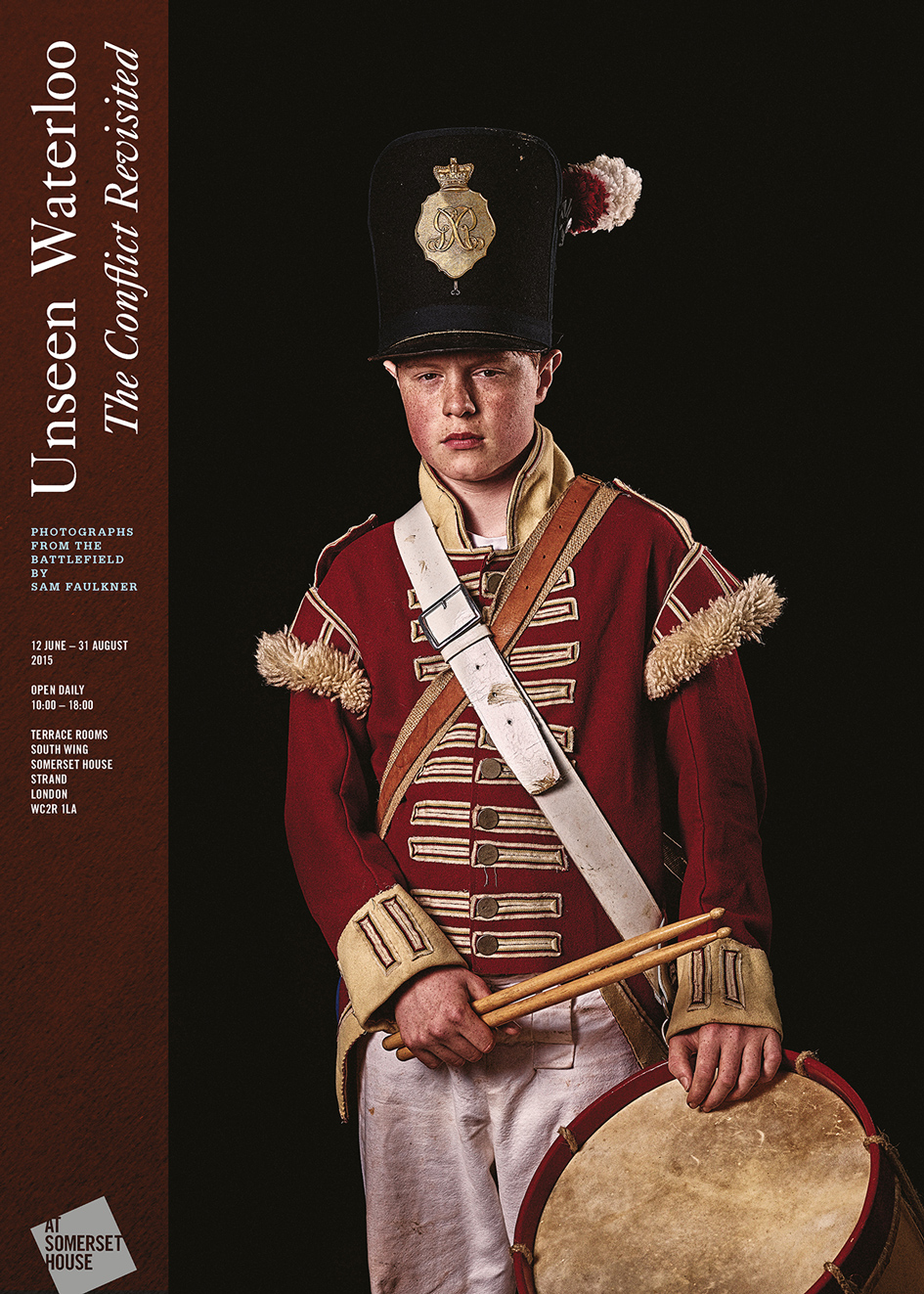Unseen Waterloo Exhibition Poster