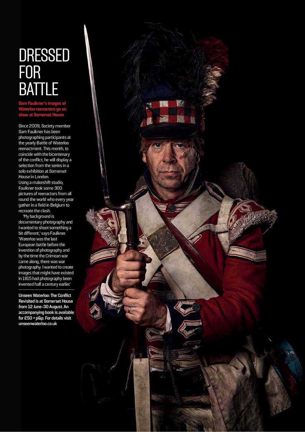 The Royal Photographic Society   RPS Magazine features the Unseen Waterloo exhibition.