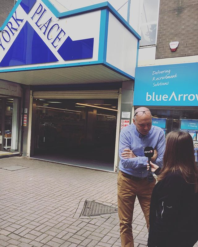 Hometown Plus speaks with @signal1official about plans for #regeneration of York Place Shopping Centre. #building #culture #pr