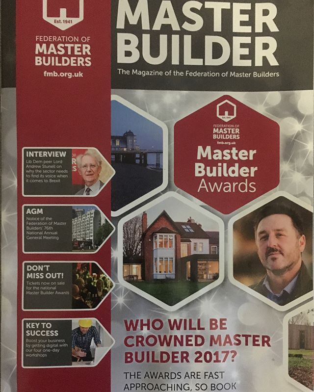 Coverage for @anderselite_birmingham with @drlewis82 in Master Builder magazine. #pr #recruitment #construction