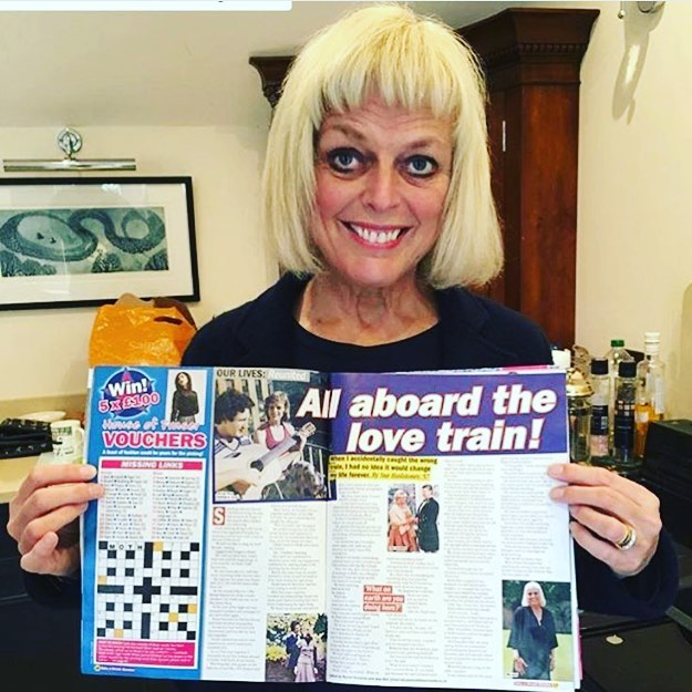 Sue at @hailstonesglass with her story in Take a Break magazine. An inspirational lady who is so passionate about her brand story. Thank you @rachtompkins 🙌🏻 #pr