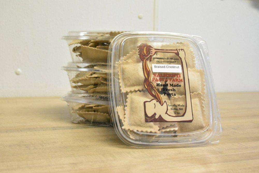 Valicenti Pasta Farm's Braised Chestnut Ravioli