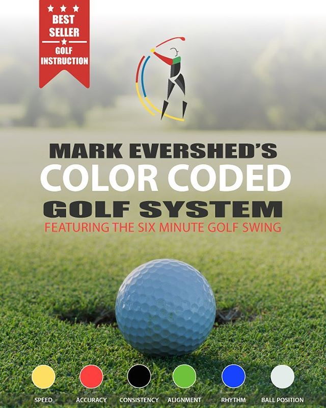 My Color Coded Golf Instructional System Featuring The Six Minute Golf Swing Is Coming To I-BOOK Soon!!
