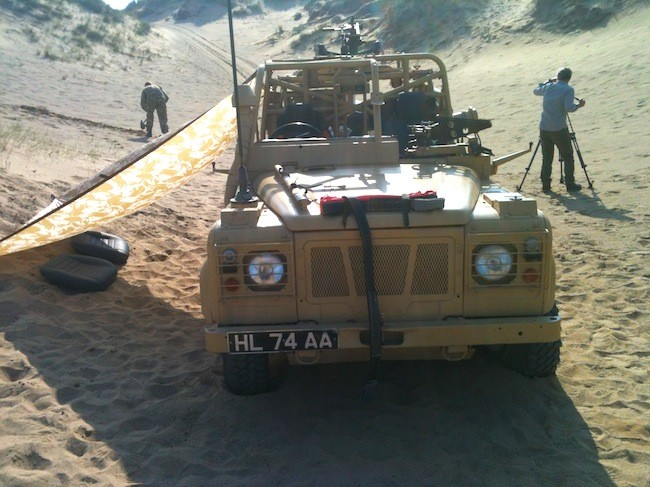 Behind the camera on the SERE Level A DVD