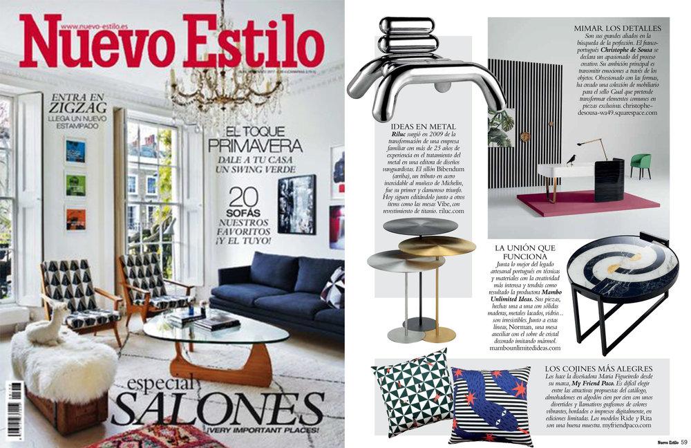 NUEVO ESTILO Nº468 (SPAIN)March 2017, page 59