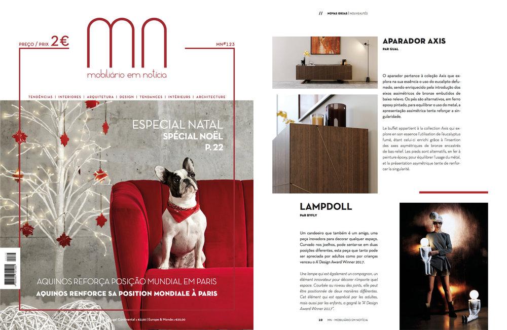 MOBILIÁRIO EM NOTÍCIA Nº123   (PORTUGAL) November 2017, page 10