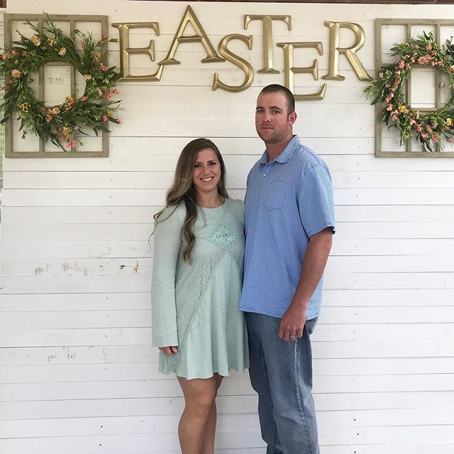 Because He Lives ❤️ Happy Easter from the Campbell's! We love our church ⛪️