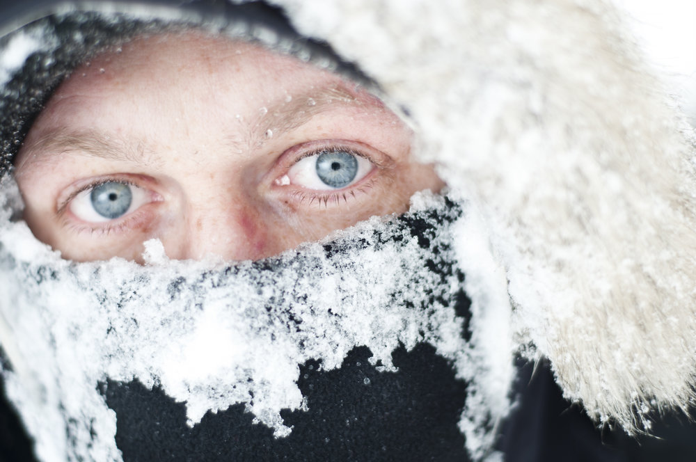 How does the cold affect the workers?