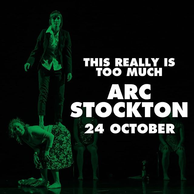"This mega tour continues!  Cast in Doncaster tonight, 23 October 7.45pm, ARC Stockton, tomorrow 24 October, Square Chapel Halifax, 25 October 🌟🌟🌟🌟 rating from EdFringe review saying: ""'This Really is Too Much' offers a prismatic performance that explores all the maddening realities of womanhood. It is the fierce and farcical feminist theatre of today that is needed to invite conversations about whether we really have 'never had it so good'."" @castindoncaster @arc_stockton @squarechapelarts  #fourstars #edfringe #feministtheatre #northerntour #showtime #comeseeit #doncasterisgreat #stockton #discoverhalifax #dancecompany #dancetheatre #foolsontheroad"