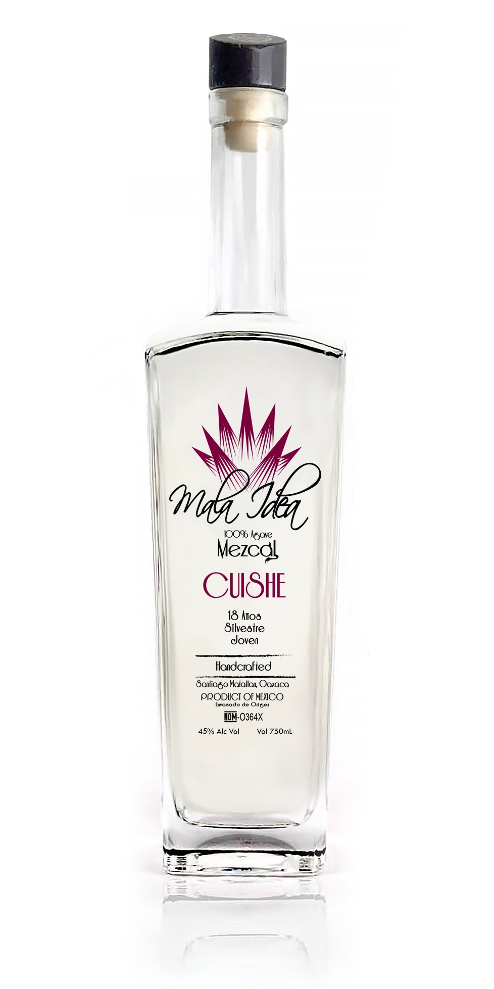 Mezcal Mala Idea Cuishe 18 Years
